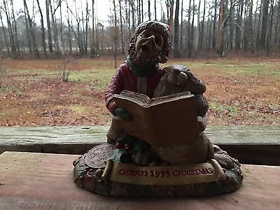 Tom Clark Gnomes CAIRN 1995 CHRISTMAS Gnome & Singing Rabbit