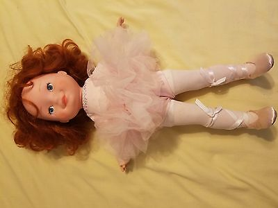 Vintage 1982 My Friend Becky Fisher Price Doll Red Hair Blue Eyes Ballerina