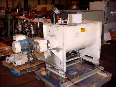 5 cu. ft.  PADDLE BLENDER  MUNSON MIXER CARBON STEEL 3 Hp