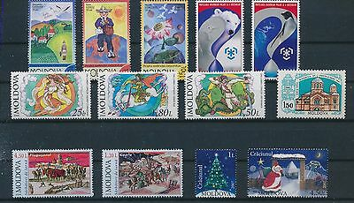 LF97018 Moldova    nice lot of good stamps MNH