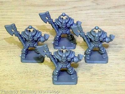 CHAOS WARRIORS x 4 - HEROQUEST - MB Games Workshop #A