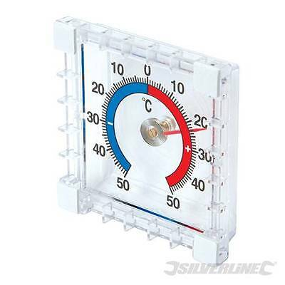 Stick On Indoor Outdoor Thermometer Garden Room Inside Outside  Temperature