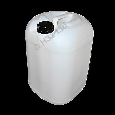 4x 25L Litre 25Ltr Container Jerry Can Bottle Water Diesel Kerosene Food Grade