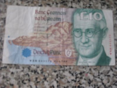 central bank of ireland    £10