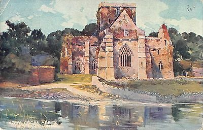 BR80731 holy cross abbey county tipperary ireland postcard painting