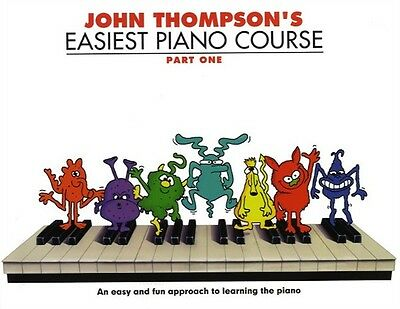 John Thompson's Easiest Piano Course Revised Edition - Part 1, 2 & 3 Available