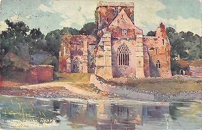 BR81112 holy cross abbey Tipperary ireland postcard painting