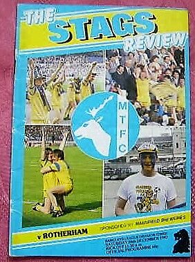 Mansfield Town  V  Rotherham United 1987-88