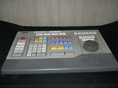 Sony BVE-900 A/S Edit Controller Keyboard Power Supply NOT Included