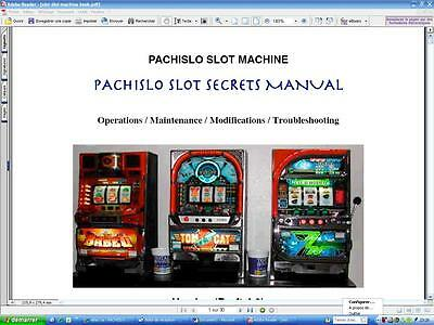 Pachislo Slot Machine How To Do Operations/