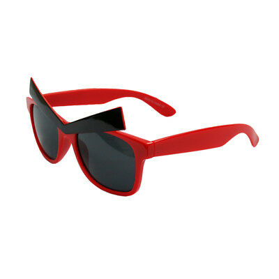 Red Sunglasses With Eyebrows Angry Birds Video Game Sun Glasses