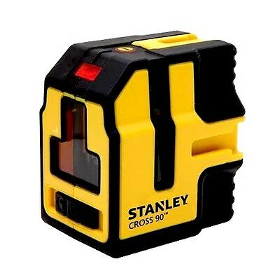 STANLEY Cross90 Self Leveling Cross Line Laser Level/Plumb NEW fatmax cl2 update