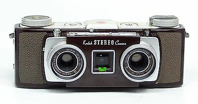Vintage 1950's Kodak Stereo Camera Twin 35mm Lenses 3D