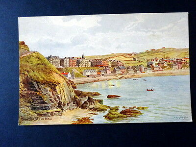 Isle of Man -Port Erin - water colour painting by A.R.Quinton. 1920s-unposted