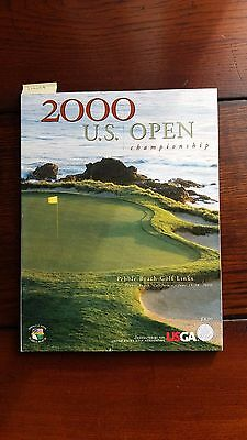 Tiger's 2000 US Open Programme player at Pebble Beach