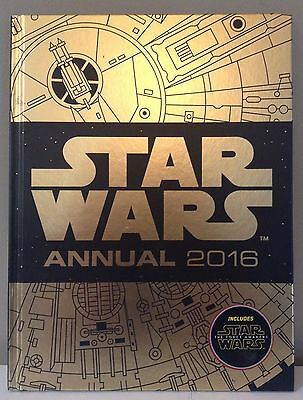 Star Wars Annual 2016:  New, lots of fun activities inside, The Force Awakens.