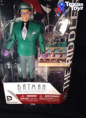 BAS Batman Animated cartoon TV Series RIDDLER 6in. Action Figure -LIVE in stock!