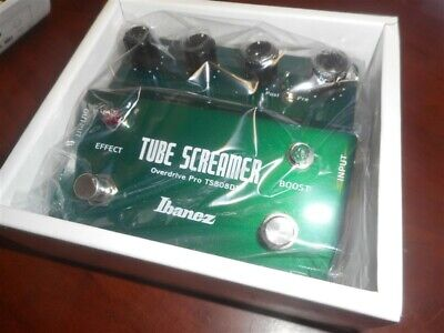 NEW - Ibanez TS808DX Tube Screamer Overdrive Pro Guitar Effects Pedal
