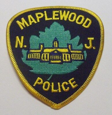 Maplewood New Jersey Police Patch Unused