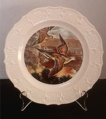 """""""Mourning Doves,"""" Seagram's Whiskey Advertising Collectible Wildlife Plate"""