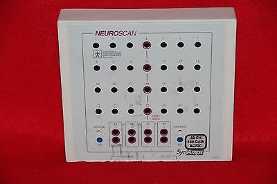 Compumedics Neuro Scan Synamps 5092C Interface Amplifier Eeg ~ 32 Channel