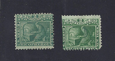 US Medicine Proprietary stamps, RS28a, RS28b, Barry's Tricopherous