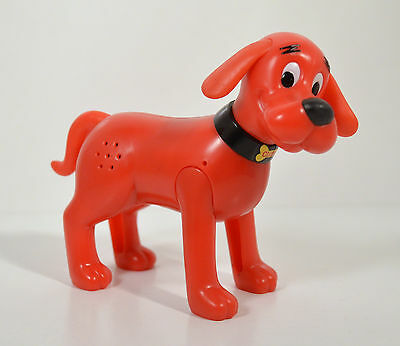 "RARE 2004 Clifford The Big Red Dog 5.5"" Action Figure McDonald's Europe"