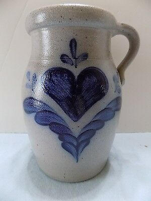 Rowe Pottery Pitcher Stoneware 1988  (R20-4)
