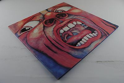 KING CRIMSON - In The Court Of The.. LP! 1983 CAN Press! Museum Copy!