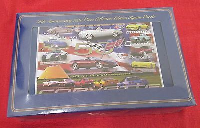 Corvette 50Th Anniversary  - Jigsaw Puzzle - New In Sealed Tin Box