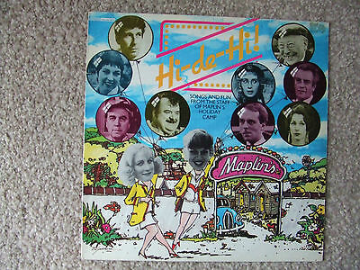 Hi-De-Hi Vinyl Lp - Songs And Fun From The Staff Of Maplins Holiday Camp