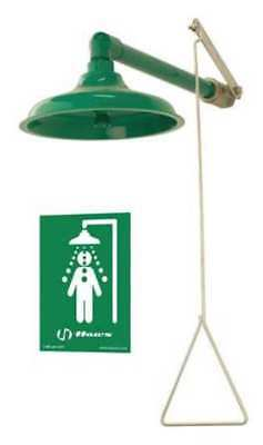 HAWS 8130 Emergency Shower,Horiz/Vert,20 gpm