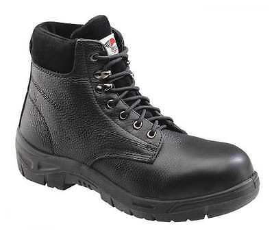 Size 13 Work Boots, Men's, Black, Steel Toe, M, Avenger Safety Footwear