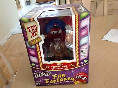 M&M's Fun Fortunes - The Great Red-Ini Candy Dispenser