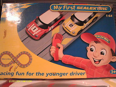MY FIRST MICRO SCALEXTRIC MINI   RACE SET   Boxed Set - GC