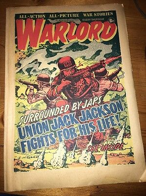 Warlord Comic #65 December 20th 1975 , 'Union Jack Jackson' cover art