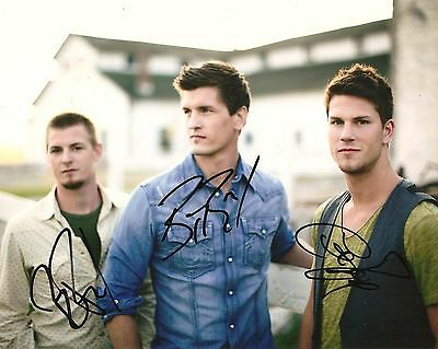 High Valley Full Band Signed 8X10 Photo Coa Autographed