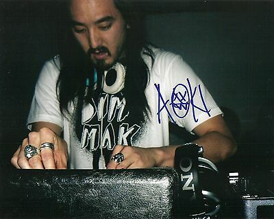 Steve Aoki Signed 8X10 Photo Proof Coa Autographed Dj Dim Mak Records 3