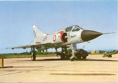 Carte postale Armée de l'air AVION G.A.M DASSAULT MIRAGE III C interception