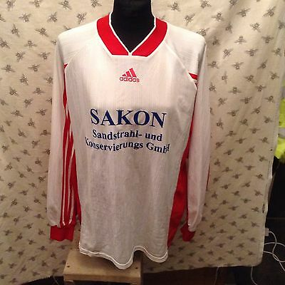 Vintage Match worn football shirt. Adults XL.