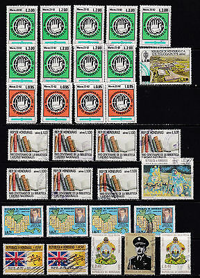 Honduras - High Value Duplicate Stamps 2 SCANS (Ho11021)