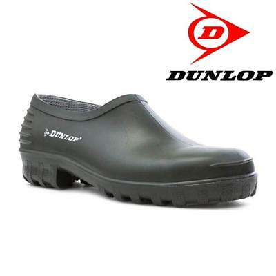 Dunlop Unisex Waterproof Green Wellies Goloshes Garden Shoes Boots Clogs 4-12