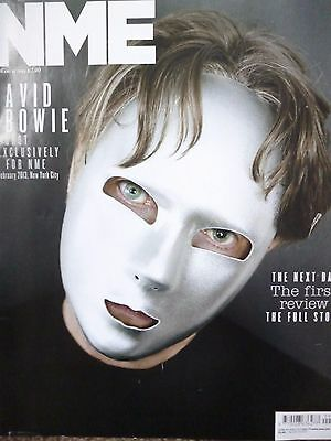 David Bowie - The Next Day - The First Review - Nme Magazine 2013