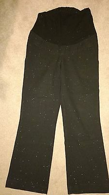 Mothercare Black Maternity Trousers Size 8