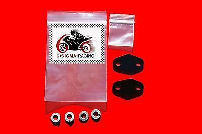 XR650L Smog Block Off Plate Kit 1993-19 PAIR Exhaust Emissions AIS Air Injection