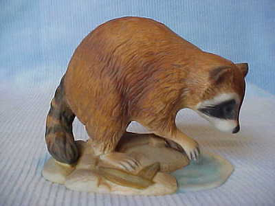 "Racoon Figurine ""Andrea by Sadek"", Dated 1984 #7001"
