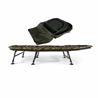 Cyprinus Base Camp Wide Carp Fishing Bedchair And Bag Combo Deal