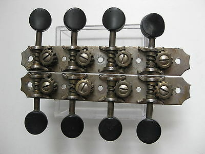 Vintage Gibson Mandolin Kluson Chicago Patented Tuners Pegs Set for Project