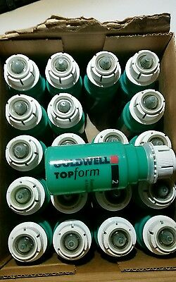 20 x Goldwell Top Form 2  Normal 90 ml Dauer -Schaumwelle