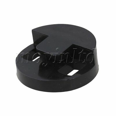 Bass Rubber Mute, Round with Double Holes Black